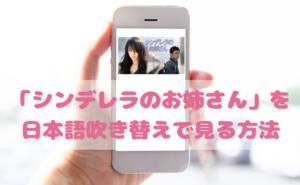シンデレラのお姉さんを日本語吹き替えで見るなら?無料動画やDVDをチェック