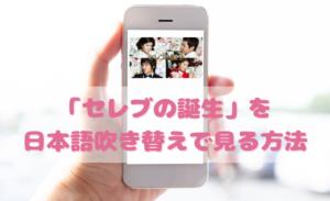 セレブの誕生を日本語吹き替えで見るなら?無料動画やDVDをチェック