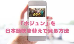 ホジュンを日本語吹き替えで見るなら?無料動画やDVDをチェック
