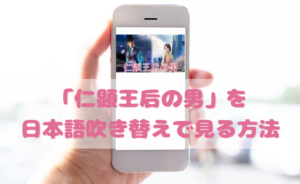 仁顕王后の男を日本語吹き替えで見るなら?無料動画やDVDをチェック