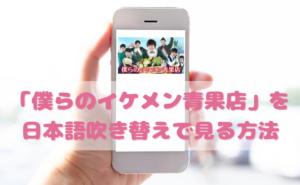 僕らのイケメン青果店を日本語吹き替えで見るなら?無料動画やDVDをチェック