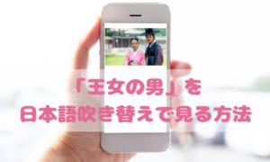王女の男を日本語吹き替えで見るなら?無料動画やDVDをチェック